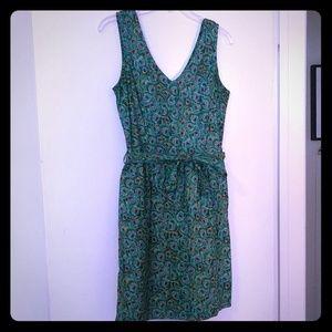 Retrolicious Peacock Print Dress